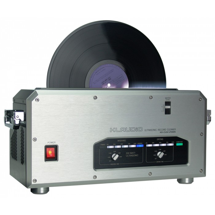 Lp Vinyl Record Ultrasonic Cleaner With Dryer External